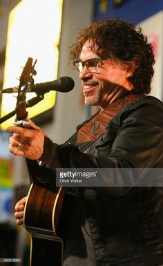 John Oates performs at 'Another Good Road' Docu-Concert TV Special and DVD release at Amoeba Music on February 5, 2015 in Hollywood, California.