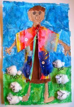 Joseph and his multi colored coat craft