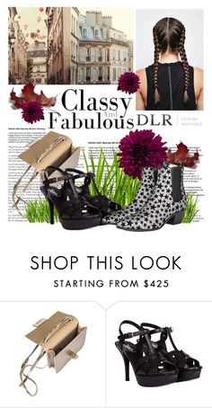 """""""DLRBOUTIQUE.COM"""" by design-it-look ❤ liked on Polyvore featuring Jimmy Choo and Yves Saint Laurent"""