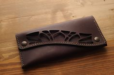 Italian leather wallet for women. Genuine by Qualcosanostra