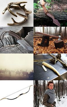 Huntress in the Forest by Ali Williams on Etsy--Pinned with TreasuryPin.com