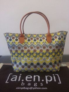 Yellow Embroidery Handmade Bag. Still Available, please contact niko.hendratmo@gmail.com for inquiry and orders worldwide