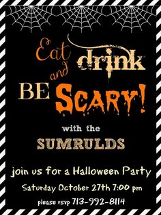 Free Halloween Invitations Templates Printable New Crafty In Crosby Halloween Party Invitations Please Halloween Invitation Template, Halloween Birthday Party Invitations, Invitation Templates, Invitation Wording, Invitation Ideas, Microsoft, Templates Free, Card Templates, Invites
