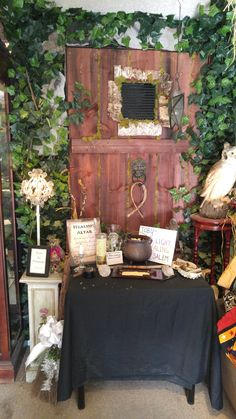 healing altar for all to ask for healing at the enchanted shop of salem