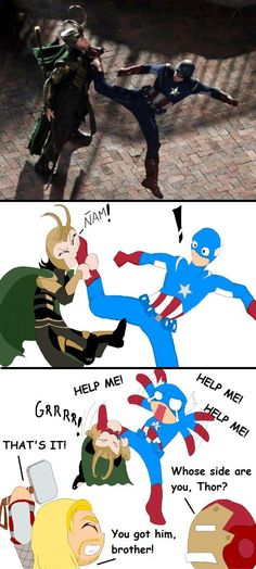 Loki's Secret Technique no. 142 by Alirusa.deviantart.com on @deviantART
