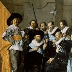 Militia Company of District XI under the Command of Captain Reynier Reael, Known as 'The Meagre Company', Frans Hals, Pieter Codde, 1637 - Rijksmuseum Sense Of Life, Dutch Golden Age, Portraits, Robin Williams, 17th Century, Vintage Men, Renaissance, Gentleman, Street Art