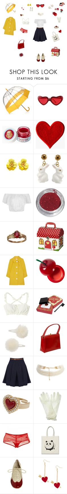 """""""My Baby just cares for me"""" by edit-hansson ❤ liked on Polyvore featuring Hunter, Nach Bijoux, Michael Kors, Tony Moly, Topshop, Gucci, Oasis, ASOS, Accessorize and Only Hearts"""