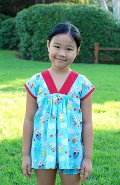 Ma Cherie Tunic Top for Girls 1-14 | Craftsy