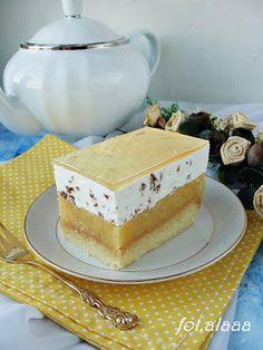 Ala piecze i gotuje: Ciasto jabłecznik stracciatella Sweet Desserts, Sweet Recipes, Cake Recipes, Dessert Recipes, Polish Recipes, Homemade Cakes, Beautiful Cakes, Food Inspiration, Food To Make