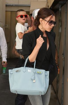 Victoria Beckham is known for her collection of Hermès bags.