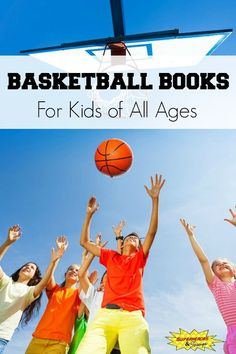 Basketball books for kids of all ages. Includes picture books, chapter books, and non-fiction books. Good Books, Books To Read, Ya Books, Basketball Books, Rhyming Riddles, Sports Illustrated Kids, Halloween Books, Book Activities, Sports Activities
