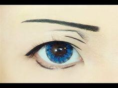 Tutorial : Anime Eye Makeup 123 • Nanase Haruka
