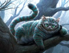 Burton's Cheshire Cat - I miss the pink, oddly enough.