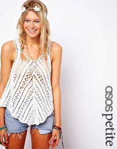 Outstanding Crochet: Crochet Village Swing Vest from Asos.