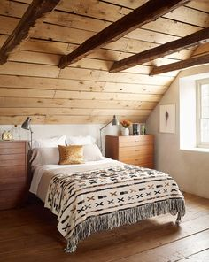 These Scandinavian-style rooms demonstrate how to master this cozy, minimalist look with style. #minimalist #scandinaviandecor #modernhomedecor #bhg Minimalist Bedroom, Minimalist Home, Design Japonais, At Home Furniture Store, Scandinavian Interior Design, Scandinavian Style, Wooden Ceilings, Home Trends, Better Homes