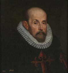 Un caballero santiaguista , 1601 Juan Pantoja de la Cruz  Colección - Museo Nacional del Prado