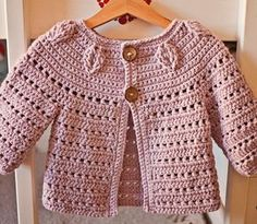 Baby Knitting Patterns Girl Crochet PATTERN Falling Leaves Cardigan sizes baby up to 8 Discover thousands of images about Crochet PATTERN Soft Wool Peplum Cardigan sizes baby up to Ravelry: Falling Leaves Cardigan pattern by Mon Petit Violon Super cu Cute Cardigans, Baby Sweaters, Girls Sweaters, Baby Patterns, Crochet Patterns, Knitting Patterns, Poncho Patterns, Crochet Blocks, Vogue Patterns