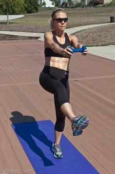 """RUNNING AWAY FROM INJURY! Great strength exercises for athletes wanting to prevent injury. """"An ounce of prevention is worth a pound of cure."""" By FitSkitz.com"""