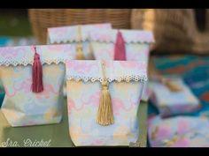 bolsas de regalo y piñata handmade