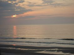 Early in the morning at Myrtle Beach