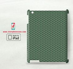 Goyard Paris Green Pattern - iPad 2 3 4(3D) Cover Case