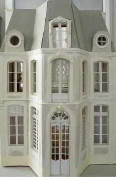Lea Frisoni. Looks like the Chateau de Morsan in Normandy (Lilian Williams).