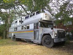 Ah.... The school bus with two vw's welded to the top. Now that is a quality RV.