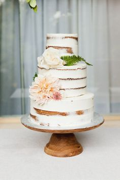 Wedding Cakes  :     Picture    Description  Rustic floral topped naked cake: www.stylemepretty…   Photography: Gucio Photography – www.guciophotogra…    - #Cake https://weddinglande.com/planning/cake/wedding-cakes-rustic-floral-topped-naked-cake-www-stylemepretty-photography-gucio-photo/