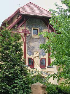 ... dalbera Bubenec, quartier art nouveau de Prague | by dalbera