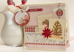 Believe Christmas Mini Album Kit - vintage inspired holiday album www.sheilarumney.com