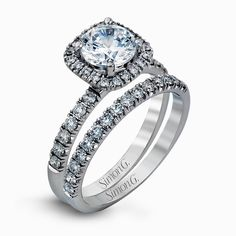 An exclusive design by Simon G., the MR2132 Engagement Set is a stunning piece of jewelry sure to please. Check out this designer piece today!