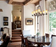 Reclaimed Beams & Flooring and Contemporary Style