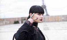 Kozue Akimoto in Paris Fashion WeekStyle_Feature