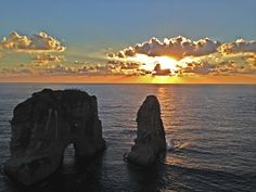 Sunset in Beirut!