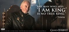 I truly hate Tywin Lannister in the books, but Charles Dance does such an amazing job with him on the show.