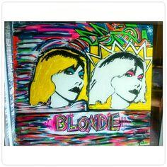 Blondie pop   100x90 http://luisinagentile.tumblr.com