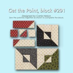 100 Blocks Sampler Sew Along Block 3