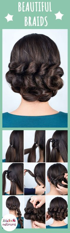 Braids have been a massive trend lately, but some of them look so fiddly. Here we have a great selection of easy hairstyles that you can recreate at home.