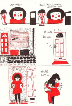 24 relationship comics that illustrate the beauty in the mundane moments.
