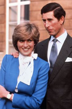 Charles & Diana announce their engagement.