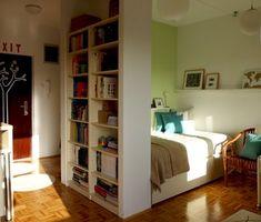 ACHADOS DE DECORAÇÃO - blog de decoração: APARTAMENTO SUPER PEQUENO: confortável, alto astral e organizado