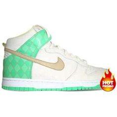 on sale 97d3e 02061 Mens Nike Dunk High Premium Sail Tweed Azure