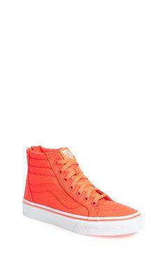 07fb7c160d Free shipping and returns on Vans Sk8-Hi Zip Sneaker (Toddler