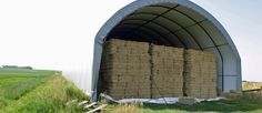 Shed storage for hay can pay for itself through retention of feed quality