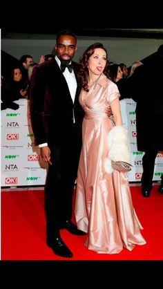 National TV Awards 2016 Amanda and Charles <3