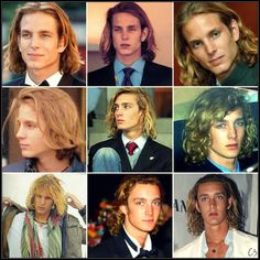 Casiraghi Alphabet:H is for Hair Casiraghi tresses are legend