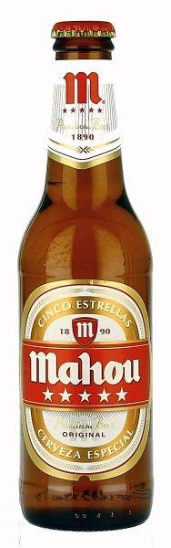 Mahou |- loved this beer in Spain