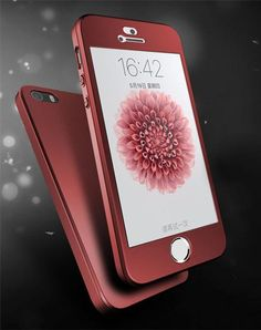 Original brand For Apple iPhone SE 5 Case Back Cover 360 Full Protection Phone Housing with Front Tempered Glass Flim * Prodolzhit' k produktu po ssylke izobrazheniya. Iphone 5s, Apple Iphone, Iphone Cases, Gift List, The Originals, Gifts, Cover, Men Hats, Floor Lamps