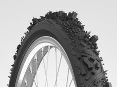 自転車のタイヤ上に作られた都市がスゴイ!