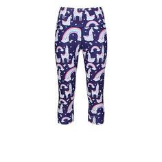 071fa39bb313a Funky Printed & Patterned Fitness Capri Leggings   Tikiboo